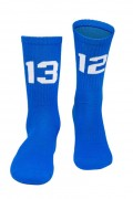 Sixblox Socks 1312 Blue White