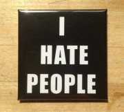 Love Skills Design - I HATE PEOPLE - Flächenmagnet