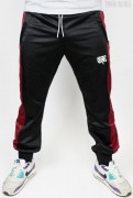 Trackpants Black Bordeaux