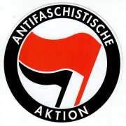 Antifaschistische Aktion (rund)