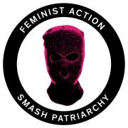 Feminist Action  rund(20 Stück)