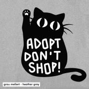 Adopt Don't Shop (Katze)