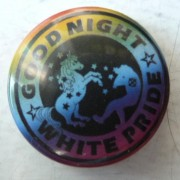 Good Night White Pride Einhorn regenbogen