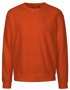 Unisex Sweatshirt  Orange