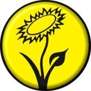 Vegan Blume (gelb)