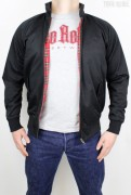 True Rebel Jacket Harrington Black
