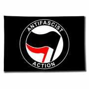 Antifascist Action schwarz