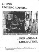 Going underground...for animal libereation