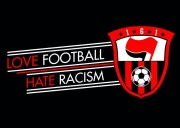 love football hate racism (30 Stück)