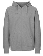 Zipper - Sports Grey ( Fairtrade )