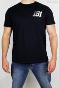 True Rebel T-Shirt 161 Stripes Pocket Print Navy