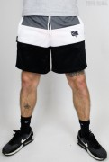 True Rebel Shorts Colour Block Charcoal