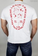 Less Talk T-Shirt Lowkick White