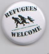 Refugees Welcome -weiss-
