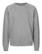 Unisex Sweatshirt Sporty Gray