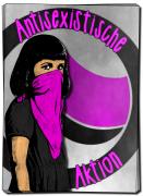 Antisexistische Aktion Groß (30 Stück)