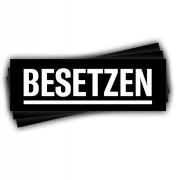 Besetzten – (schwarz 30 Stück)