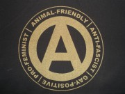 Animal-Friendly, Anti-Fascist, Gay-Positive, Pro-Feminist ( Fairtrade )
