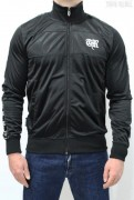 True Rebel Track Jacket Taped Black