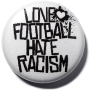 Love football hate racism