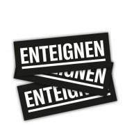 ENTEIGNEN – (schwarz 30 Stück)