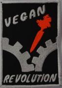 Vegan Revolution -gestickt-