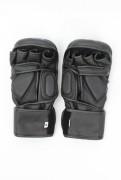 MMA Sparring Gloves Vegan Black