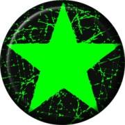 Grüner Stern -splash-