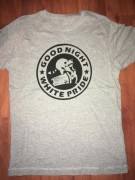 GOOD NIGHT WHITE PRIDE -Waschbär - Größe XL- grau ( Fairtrade )