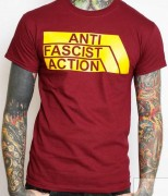 ANTI FASCIST ACTION -burgund-