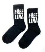Tennissocken - FREE LINA - black