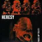 HERESY - Face Up To It LP ( colored Vinyl )