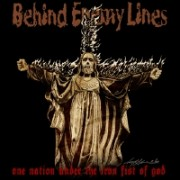 BEHIND ENEMY LINES - One Nation Under The Iron Fist Of God LP ( colored Vinyl )