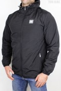 True Rebel Windbreaker Robber Black