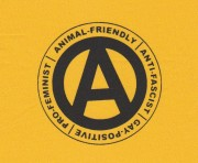 Animal-Friendly, Anti-Fascist, Gay-Positive, Pro-Feminist ( Typ II )