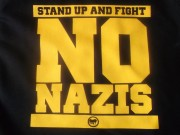 No Nazis - Stand up and Fight (Fairtrade)