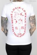 Less Talk Shirt Lowkick White