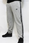 True Rebel Sweatpants Taped Grey