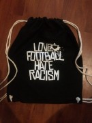 Love Football Hate Racism Turnbeutel