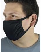 Stoffmaske für Mund & Nase Neu (schwarz)