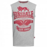 CLEATOR ärmelloses T-Shirt Lonsdale grey