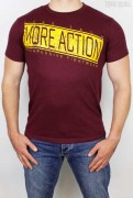 Less Talk T-Shirt Progressive Burgundy