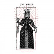 POTENCE -s/t LP ( colored )