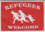 Refugees Welcome -gestickt-
