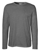 Longsleeve - Dark Heather- ( Fairtrade )