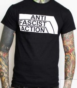 ANTI FASCIST ACTION -schwarz-