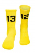 Sixblox Socks 1312 Yellow Black