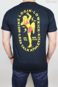 Less Talk T-Shirt Lowkick Navy