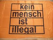 Kein Mensch ist Illegal orange