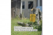 Voice of Anger und der rechte Untergrund im Allgäu